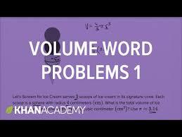 volume word problems u2014 basic example video khan academy