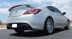 silver hyundai genesis coupe tsw monaco silver on 2013 hyundai genesis coupe w specs wheels