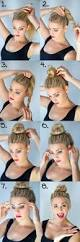 Hairstyle Steps For Girls by Best 20 Simple Hairstyles Ideas On Pinterest Simple Hair Updos