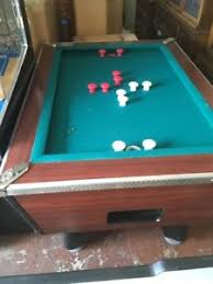 slate bumper pool table vintage american shuffleboard co union city nj slate bumper pool
