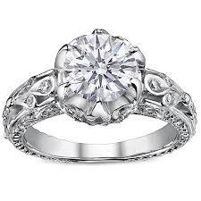 edwardian style engagement rings edwardian half moon engagement rings from mdc diamonds nyc
