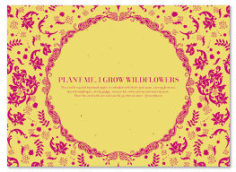 Creative Indian Wedding Invitations Indian Wedding Invitations On Seeded Paper Vintage Hindu By