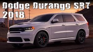 Dodge Durango Specs - all new 2018 dodge durango srt prices and specs review youtube