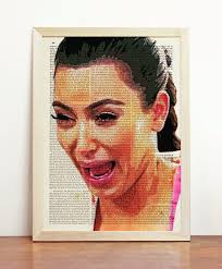 Crying Face Meme - kim kardashian ugly cry crying humor kimberly portrait