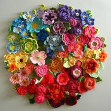Crocheted Flowers - 1083 best crochet flowers and leaves images on pinterest irish