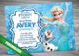 frozen birthday invitation ideas ideas frozen invitation