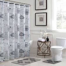 Curtains Bathroom Shower Curtains Shower Accessories The Home Depot