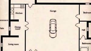 garage floorplans small home with a big garage floor plan