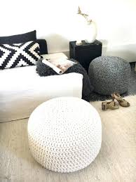 Target Pouf Ottoman Fascinating Room Pouf Ottoman Ideas Knit Target Ottomans Room