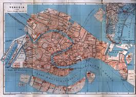 Map Italy by Venezia Venice Map Italy 1913 Full Size