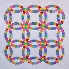 wedding ring quilt pattern paper panache paper pieced traditional wedding ring quilt