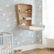 Wall Changing Tables For Babies Crane Noga Changing Table Houseology