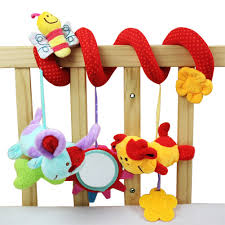 Multifunctional Bed Baby Rattles Toys Animal Plush Toy Super Soft Multifunctional Bed