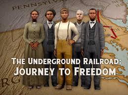 Underground Railroad Map The Underground Railroad National Geographic Society