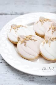 gilded pumpkin cookies decorated cookies autumn