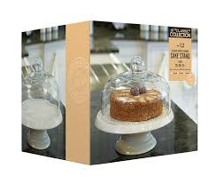 kitchen craft classic collection 29 cm ceramic cake stand with