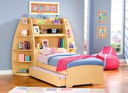 Kids Beds With Storage Kids Storage Beds With Bookcase Home Interiors