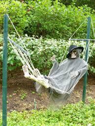 Swinging Skeleton Halloween Decorations by