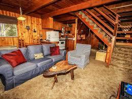 Two Story Log Homes Bonita Cabin Rustic Two Story Mountain Homeaway Big Bear Lake