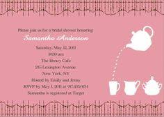 bridal tea party invitation wording bridal shower invitation wording adults only bridal shower