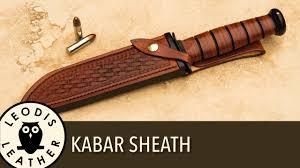kã chenlen design designing and a ka bar sheath