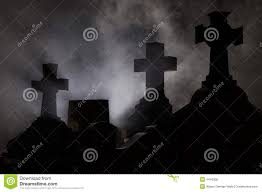 cemetery instrumental soundtrack halloween background sounds headstone cross in graveyard royalty free stock photo image
