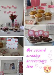 2nd wedding ideas 2nd wedding anniversary gift ideas for decorating