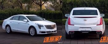 cadillac xts recall 2018 cadillac xts leaked in china autoevolution