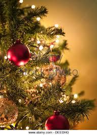 ornaments hanging tree stock photos