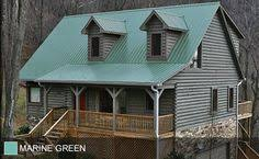 green metal roof house google search green pinterest metal