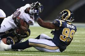 Tim Barnes St Louis Rams Baltimore Ravens Vs St Louis Rams Final Game Status Baltimore
