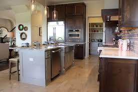 gray kitchen cabinets burrows cabinets central texas builder