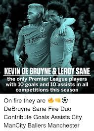 Memes De Kevin - exen ways kevin de bruyne leroy sane the only premier league