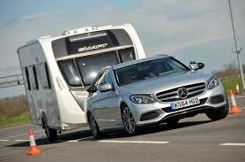 mercedes towing mercedes c220 bluetec estate tow car awards