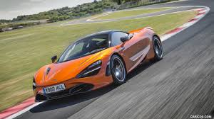 orange mclaren 2018 mclaren 720s color azores orange front three quarter