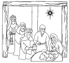 birth of jesus coloring page three kings on nativity of jesus coloring pages batch coloring