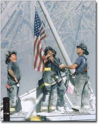 Us Military Flags For Sale Amazon Com New York Firefighters Raising Flag At Ground Zero 9 11