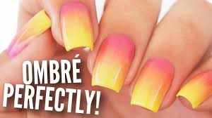 ombre gradient your nails perfectly youtube