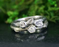 bridal ring sets canada bridal sets etsy ca