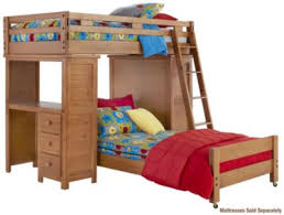Loft Bed Without Desk Kids U0027 U0026 Teens U0027 Bunkbeds Art Van Furniture