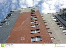 imagenes de bottom up modern apartment house the view from the bottom up stock image