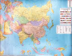 Physical Map Of Asia by Wall Map Of Eastern Europe U0026 Russia Freytag U0026 Berndt U2013 Mapscompany