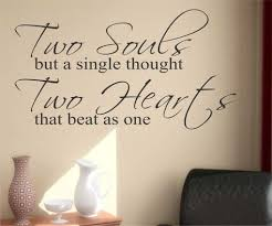 wedding quotes keats two souls two hearts decal vinyl wall lettering wedding quote