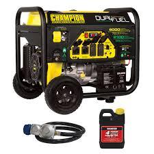 champion 4000 w portable gasoline generator