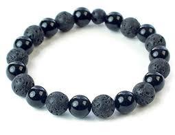 onyx bracelet images Lava bead bracelet black onyx bracelet beaded jpg