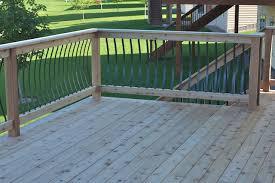 modern deck details