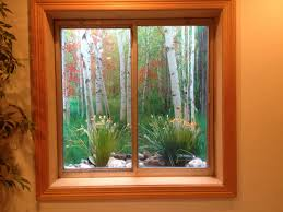 window well scenes are a inexpensive way to hide those ugly window