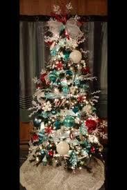 Red Gold And Purple Christmas Tree - aqua purple christmas tree christmas trees pinterest purple