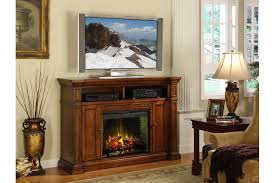 electric fireplace tv stand 58quot wood tv stand with electric