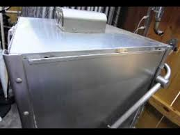 Commercial Hobart Dishwasher Hobart Am11 Commercial Dishwasher Youtube